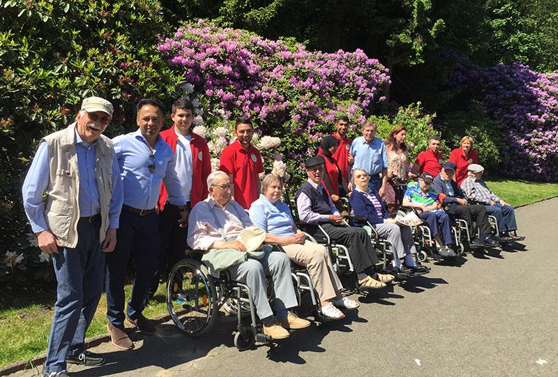 Hinaus in die Natur: Rhododendron Park