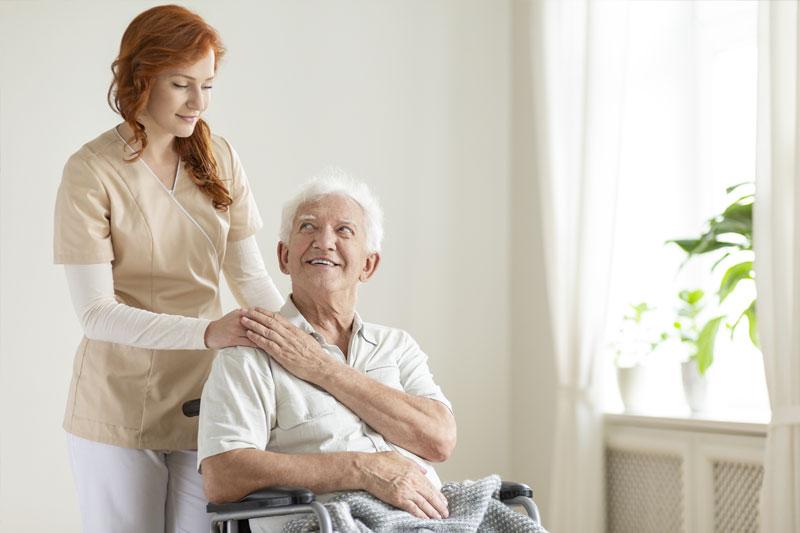 Beruhigt eine Pause von der Alltagspflege einlegen
